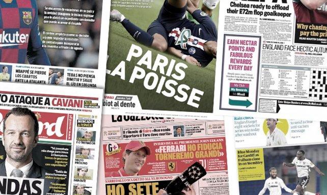 Benfica dément une arrivée d'Edinson Cavani — Mercato