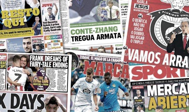 Le Borussia Dortmund pose un ultimatum à Manchester United pour Jadon Sancho, Edinson Cavani tout proche de Benfica