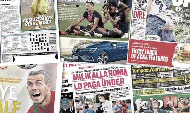 Le PSG veut chiper deux joueurs à l'Inter, Zinedine Zidane soulagé du départ de Gareth Bale