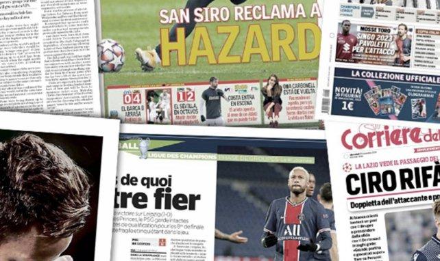 Toute l'Europe est émerveillée par Bruno Fernandes, la terrible stat d'Eden Hazard en Ligue des champions