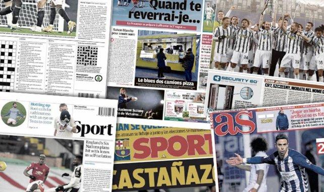 """La presse espagnole se déchaîne contre le Real Madrid, """"le Roi"""" Cristiano Ronaldo sauve Andrea Pirlo"""