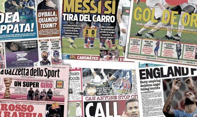 Toute l'Italie crie au scandale arbitral après Atalanta-Real Madrid, la folle idée de l'UEFA pour la finale de la C1