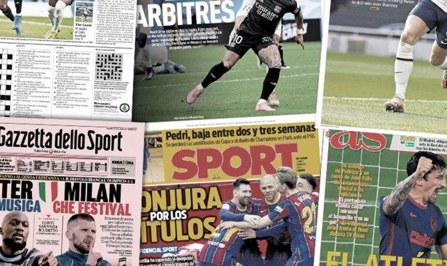 Les graves accusations de Manchester United contre l'arbitrage, le pacte secret des joueurs du Barça