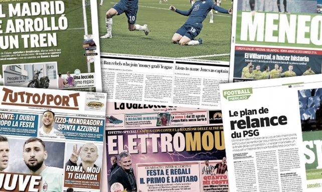 La presse espagnole tire à boulets rouges sur le Real Madrid, un retour de Neymar divise le FC Barcelone
