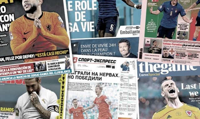 La presse espagnole sous le choc du départ de Sergio Ramos du Real Madrid, le Royaume-Uni célèbre le retour au sommet de Gareth Bale