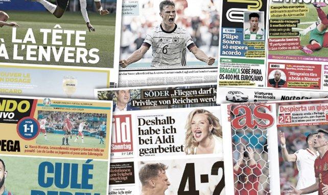 Le Portugal désigne les coupables après le fiasco contre l'Allemagne, la très grosse crainte de Manchester United sur le dossier Paul Pogba
