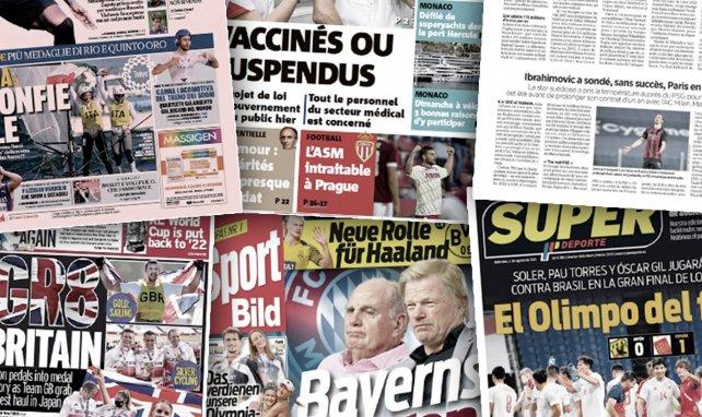 La menace de Daniel Wass à Valence pour rejoindre l'OM, le feuilleton Romelu Lukaku enflamme la presse européenne