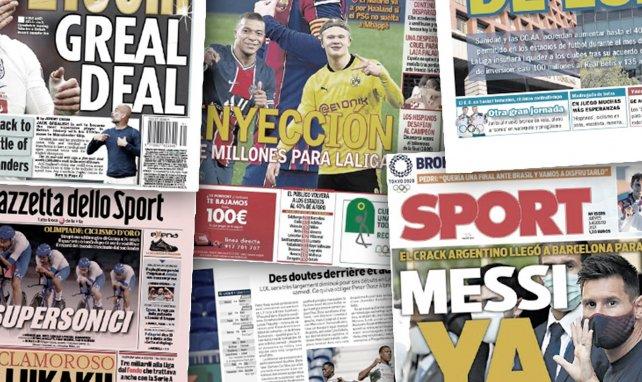 L'importante arrivée d'argent en Liga relance les dossiers Haaland et Mbappé, le cas Romelu Lukaku déchire l'Inter