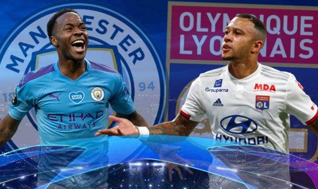Manchester City - OL : les compositions probables