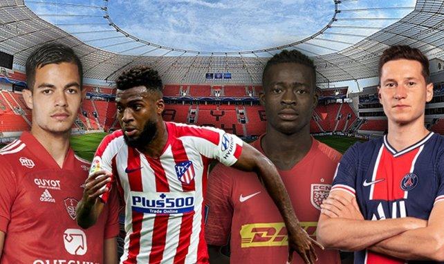 Faivre, Lemar, Sulemana et Draxler sont pistés par le Bayer Leverkusen