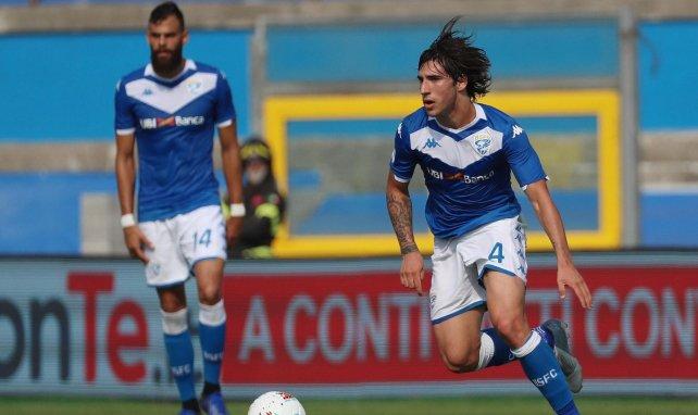 Roberto Mancini s'enflamme pour Sandro Tonali