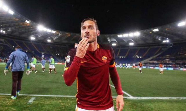 Francesco Totti sous le maillot de l'AS Roma