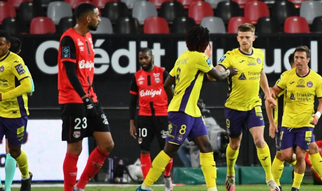 Ligue 2 : Toulouse ramène un point de Guingamp