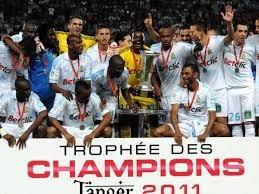 L'Olympique de Marseille a remporté le Trophée des Champions en 2011 contre Lille