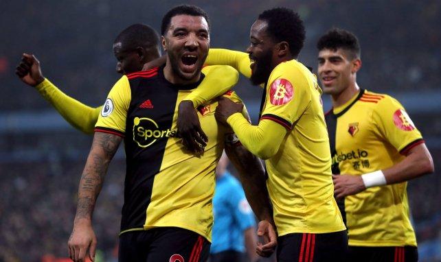 Les joueurs de Watford célèbrent un but