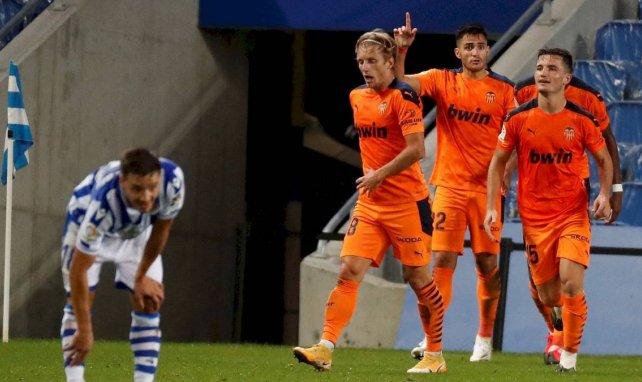 Liga : Valence surprend la Real Sociedad