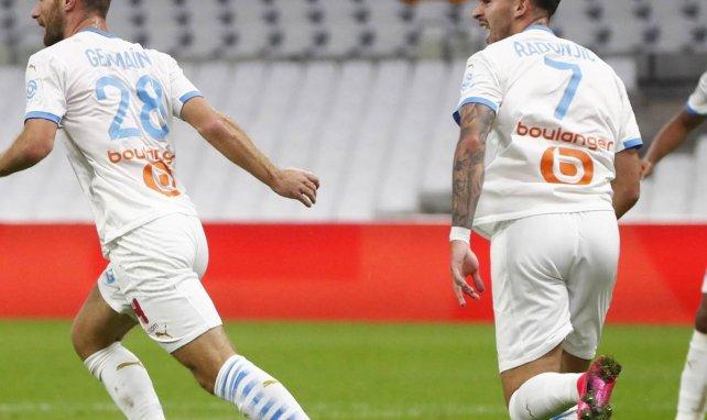 Valère Germain et Nemanja Radonjic buteurs face à Montpellier