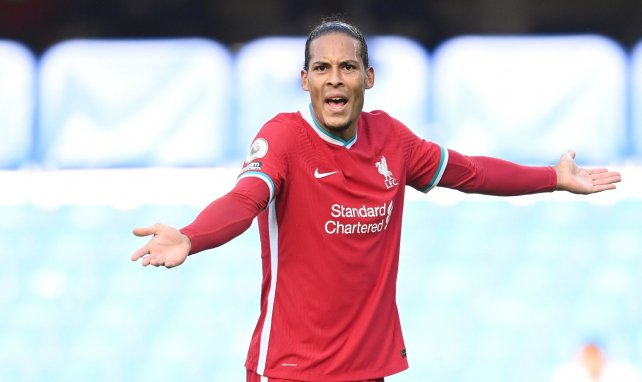 Virgil van Dijk ici lors d'un match en Premier League