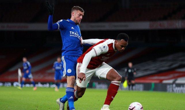Les duels ont été âpres entre Arsenal et Leicester