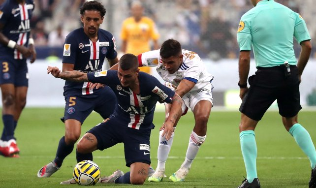 PSG : Marco Verratti encore absent de l'entraînement