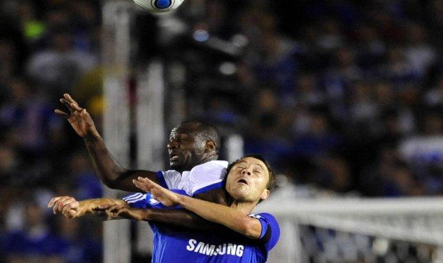 Patrick Vieira et John Terry au duel lors d'un Inter-Chelsea en 2009