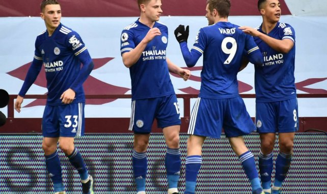 PL : Leicester encore freiné, Aston Villa s'incline