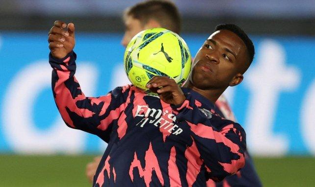 Real Madrid : Vinicius Junior vide son sac