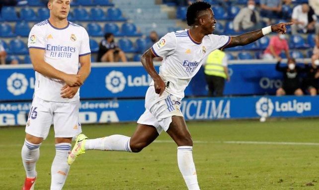 Vinicius Junior célèbre un but