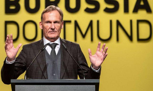 Le directeur général du Borussia Dortmund, Hans-Joachim Watzke