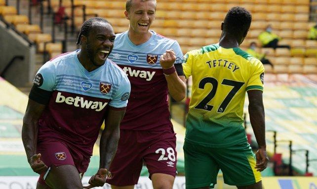 PL : West Ham et Antonio condamnent Norwich à la Championship !