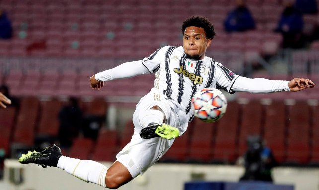 La Juventus lève l'option d'achat de Weston McKennie