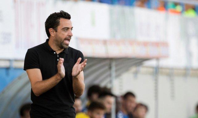 Xavi sur le banc d'Al Sadd