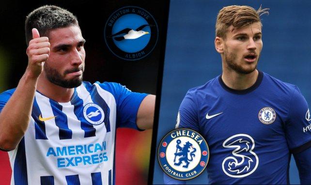 Les compos probables de Brighton-Chelsea