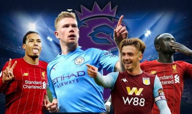 Le onze type de la saison 2019/2020 de Premier League