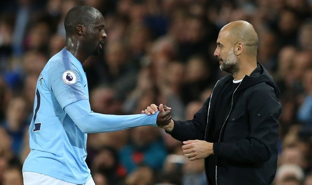 Yaya Touré s'excuse auprès de Pep Guardiola