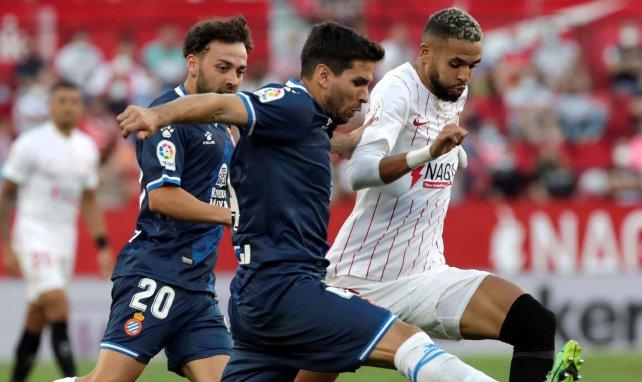 Liga : réduit à 10, Séville s'impose face à l'Espanyol