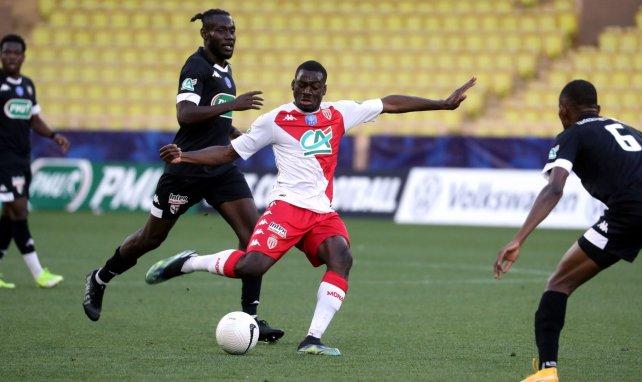 Youssouf Fofana lors de la rencontre entre Monaco et Metz en Coupe de France