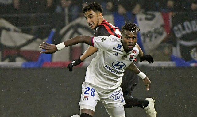 Youssouf Koné contre l'OGC Nice en novembre 2019