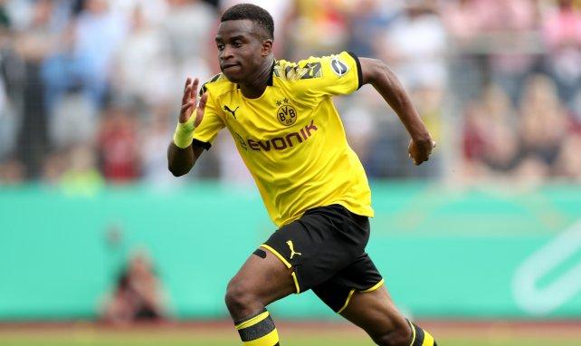 Youssoufa Moukoko avec Dortmund
