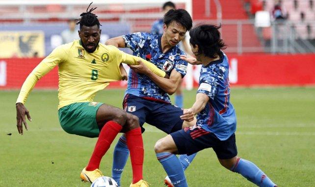 André-Frank Zambo Anguissa avec le Cameroun