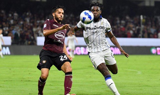 Serie A : l'Atalanta s'impose dans la douleur face à la Salernitana