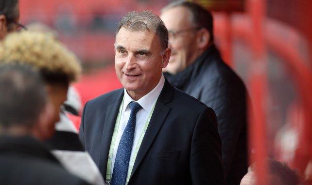 Eddy Zdziech, le président du Valenciennes FC, en septembre 2019