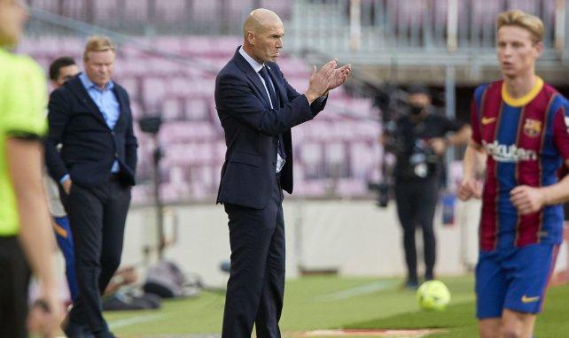Real Madrid : la réaction de Zinedine Zidane après le succès précieux face au Barça