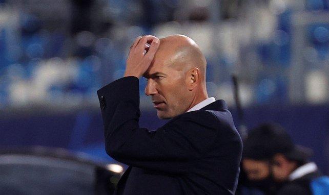 Real Madrid : Zinedine Zidane vit un véritable cauchemar