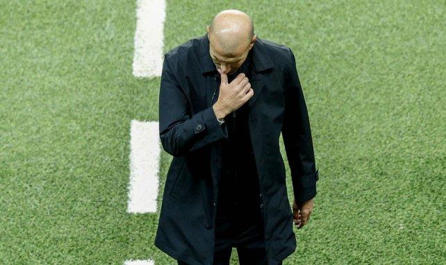 Real Madrid : la colère froide de Zinedine Zidane