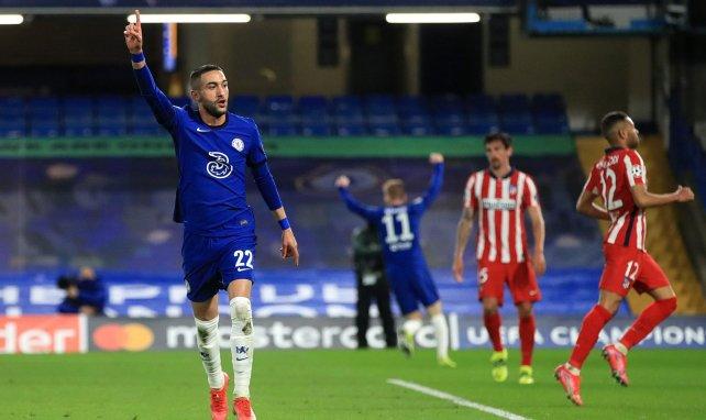 Hakim Ziyech buteur face à l'Atlético