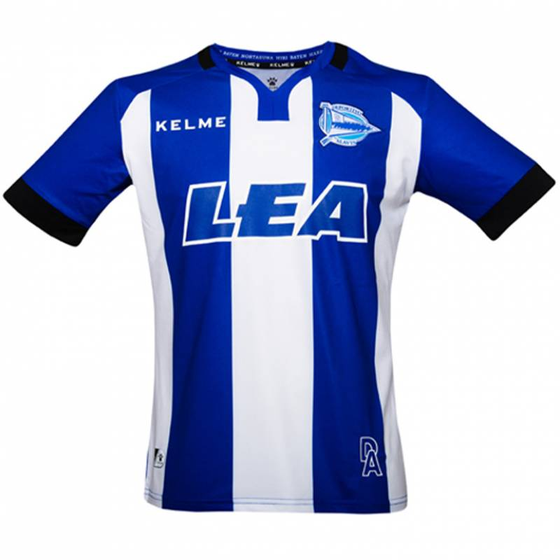 Maillot Deportivo Alaves domicile 2017/2018