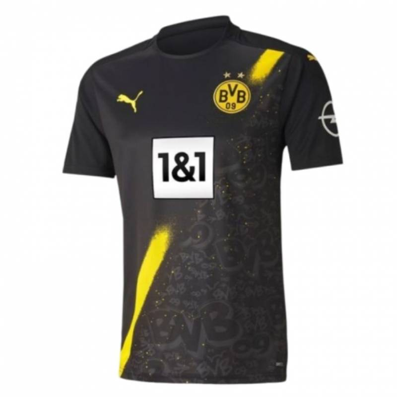 Maillot BV Borussia 09 Dortmund extérieur 2020/2021