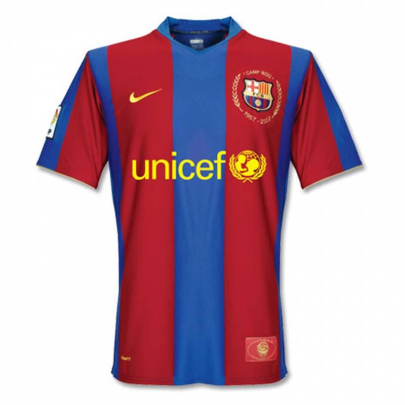 Maillot Barcelone domicile 2007/2008