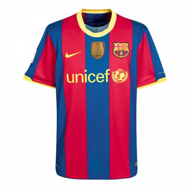 Maillot Barcelone domicile 2010/2011